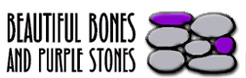 Beautiful Bones and Purple Stones Landscaping